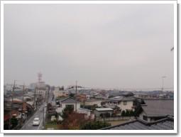 熊谷市中西S様 児玉局方向の景色。.JPG