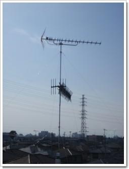 熊谷市中西Y様 アンテナ工事完了。.JPG