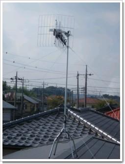 熊谷市万吉F様 アンテナ工事完了。.JPG