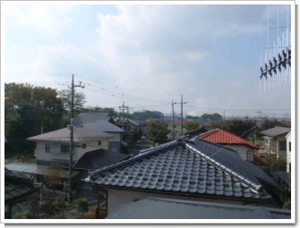 熊谷市万吉F様 児玉局方向の景色。.JPG
