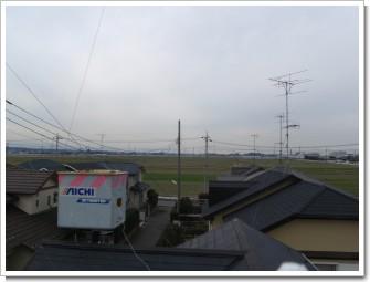 熊谷市万吉K様 児玉局方向の景色。.JPG