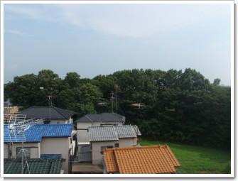 古河市鴻巣A様 東京タワー方向の景色。.JPG