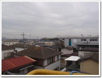 幸手市上高野S様 東京タワー方向の景色。.JPG