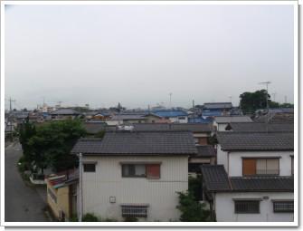幸手市北A様 東京タワー方向の景色(浦和局寄り)。.JPG