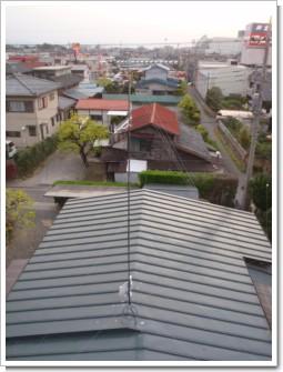行田市旭町K様 アンテナ工事完了。.JPG
