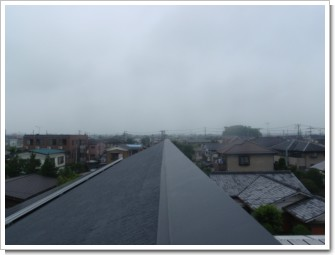 行田市栄町M様 児玉局方向の景色。.JPG