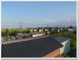 行田市下須戸H様 東京タワー方向の景色。.JPG