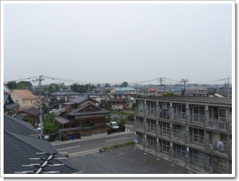 行田市城西S様 前橋局方向の景色。.JPG