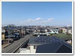 行田市佐間N様 前橋局方向の景色2。.JPG