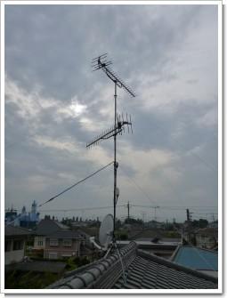 行田市南河原T様 アンテナ工事完了。.JPG