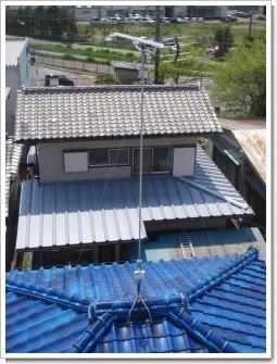 行田市藤原町Y様 アンテナ工事完了。.JPG