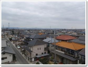 行田市西新町I様 児玉局方向の景色。.JPG