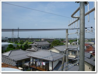 行田市西新町T様 児玉局方向の景色。.JPG