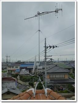 行田市西新町T様 アンテナ工事完了。.JPG