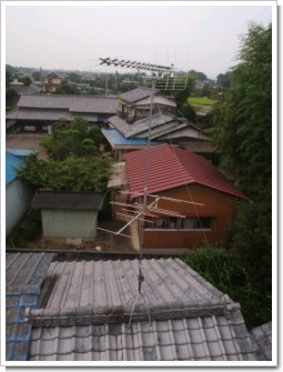 行田市長野O様 アンテナ工事完了。.JPG