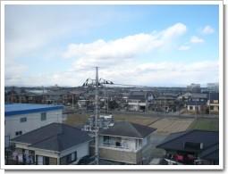 行田市長野F様 前橋局方向の景色。.JPG