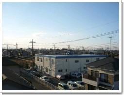 行田市長野F様前橋局方向の景色。.JPG