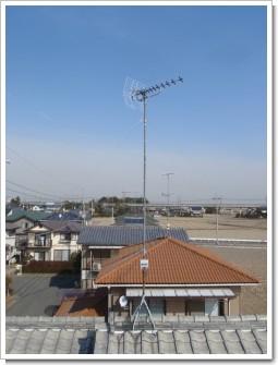 鴻巣市ひばり野F様 アンテナ工事完了。.JPG