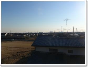 鴻巣市ひばり野F様 東京タワー方向の景色。.JPG