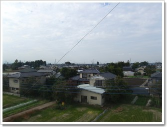 鴻巣市屈巣N様 児玉局方向の景色(完了)。.JPG