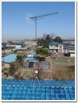 鴻巣市屈巣H様 アンテナ工事完了。.JPG