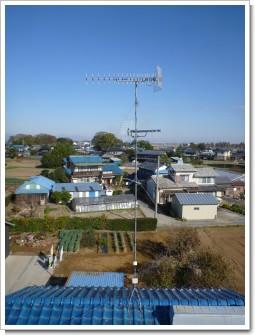 鴻巣市屈巣K様 アンテナ工事完了。.JPG