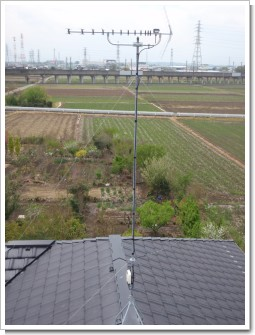 鴻巣市屈巣S様 アンテナ工事完了。.JPG