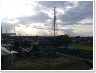 鴻巣市屈巣S様 児玉局方向の景色。.JPG