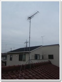 鴻巣市逆川M様 アンテナ工事完了。.JPG