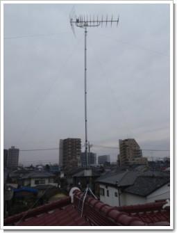 鴻巣市逆川N様 アンテナ工事完了。.JPG
