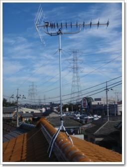 鴻巣市宮前W様 アンテナ工事完了。.JPG