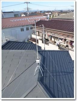 鴻巣市宮地M様 アンテナ工事完了。.JPG