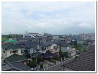 鴻巣市宮地M様 東京タワー方向の景色(反射波)。.JPG