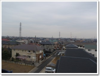 鴻巣市宮地K様 前橋局方向の景色。.JPG