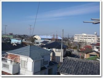 鴻巣市下忍Y様 前橋局方向の景色。.JPG