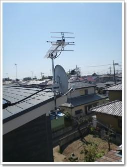 鴻巣市加美I様 アンテナ工事完了。.JPG