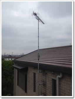 鴻巣市鎌塚T様 アンテナ工事完了。.JPG