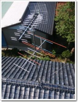 鴻巣市関新田O様 アンテナ工事完了。.JPG