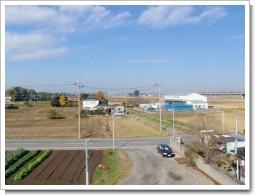 鴻巣市上谷U様 前橋局方向の景色。.JPG