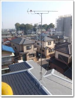 鴻巣市小松F様 アンテナ工事完了。.JPG