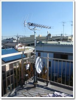 鴻巣市小松K様 アンテナ工事完了。.JPG