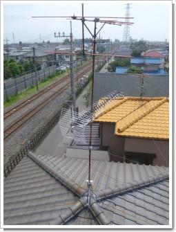 鴻巣市小松S様 アンテナ工事完了。.JPG