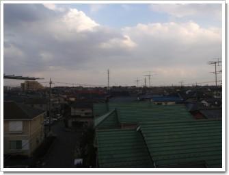 鴻巣市松原O様 東京タワー方向の景色。.JPG