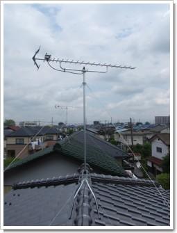 鴻巣市松原N様 アンテナ工事完了。.JPG