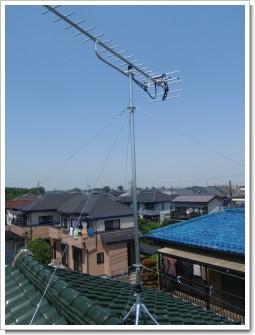 鴻巣市松原I様 アンテナ工事完了。.JPG