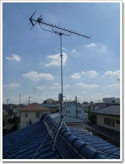 鴻巣市松原T様 アンテナ工事完了。.JPG