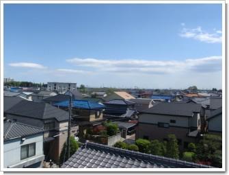 鴻巣市松原Y様 東京タワー方向の景色。.JPG