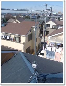 鴻巣市原馬室M様 アンテナ工事完了。.JPG