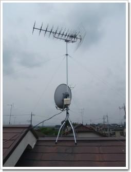 鴻巣市幸町S様 アンテナ工事完了。.JPG