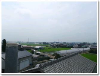 鴻巣市広田O様 東京タワー方向の景色(コン柱上)。.JPG